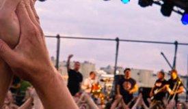 Репортаж с концерта группы «Ляпис Трубецкой» на крыше Artplay (от 04.07.2014)