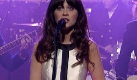 She & Him спели песню Never Wanted Your Love на шоу Леттермана