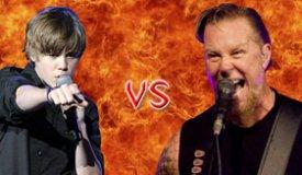 Джастин Бибер кавернул песню Metallica