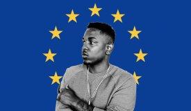 Лови Кендрика в Европе: шоу 2018