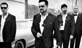 U2 сняли короткометражный фильм-клип на песню «Every Breaking Wave»