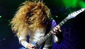 Instarock: Megadeth в клубе Ray Just Arena (29.07.2014)