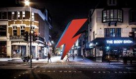В Лондоне хотят поставить памятник Боуи в виде молнии