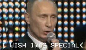 Видео дня: Путин поет Radiohead
