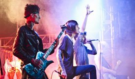 Репортаж с концерта Crown The Empire в Volta (от 17.02.2015)