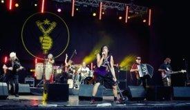 Фотоотчёт с концерта группы Gogol Bordello в Зеленом Театре / 29.06.2011
