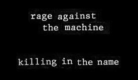 Убивая во имя: мощные версии «Killing in the Name»