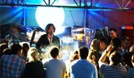 Презентация дебютного альбома группы Pompeya «Tropical» в клубе «Лебединое озеро» / 28.05.2011
