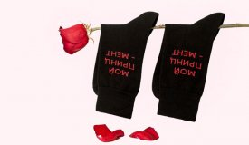 St. Friday Socks выпустили носки для On-the-Go и Аигел