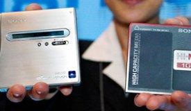 Компания Sony вскоре прекратит выпуск минидисковых плееров