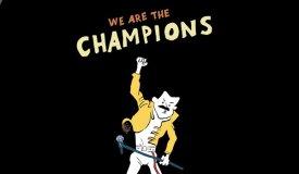 Чемпионская десятка: другие версии «We Are the Champions»