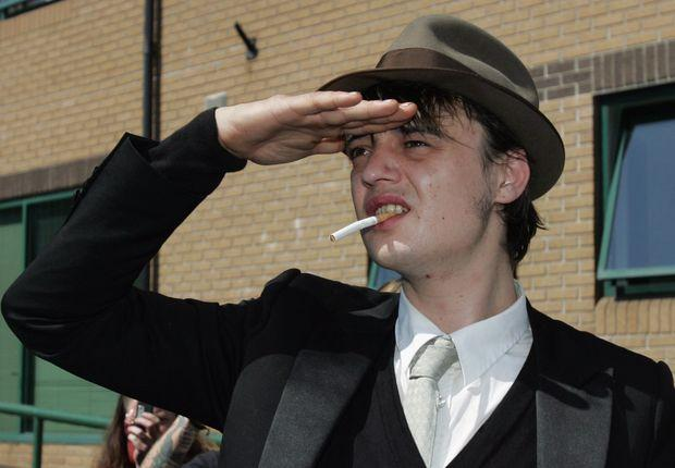 Pete Doherty In Court Charged With Criminal Damage