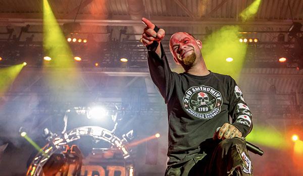 Инстарок: Five Finger Death Punch в Ray Just Arena