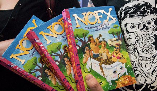 5 невероятных вещей, которые мы узнали из новой книги NOFX