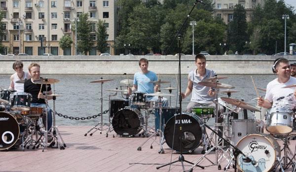 В Парке Горького пройдет флешмоб с 200 музыкантами