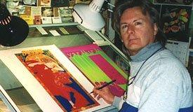 В «Цветном» покажут психоделические рок-постеры Боба Массе