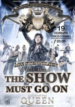 Age Sten Nilsen «The Show Must Go On»