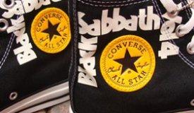 Группа Black Sabbath обзавелась именными «конверсами»