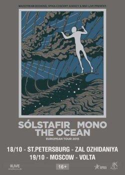 Mono / Sólstafir / The Ocean