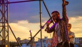 Репортаж с концерта группы SunSay на крыше Artplay (от 05.07.2014)