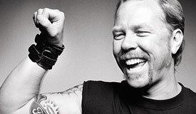 Джеймс Хэтфилд и его кошка демонстрируют новый трек Metallica