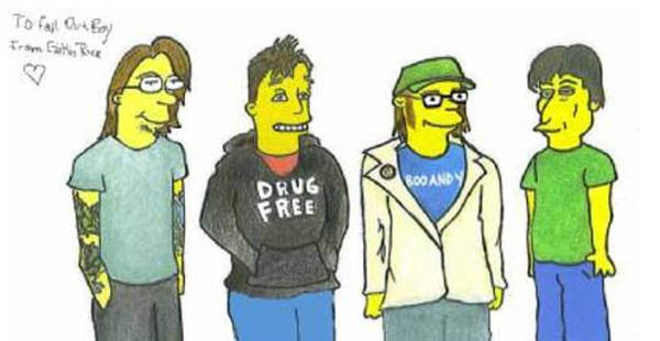 simpsons-falloutboy